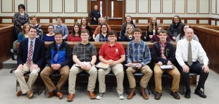 Chamber HCHS Leadership Class meets local government  | leadership program, Hickman County, Hickman County High School,