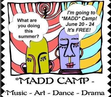 MADD Art Camp begins June 20th