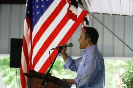 Matt Bevin at Fancy Farm 2014