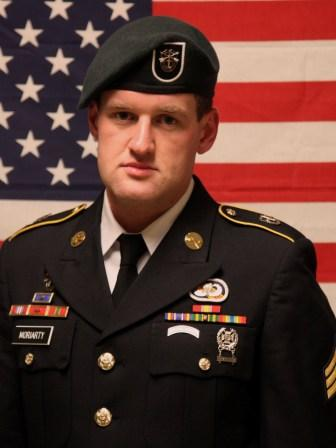 Fort Campbell Soldier: Staff Sgt. James F. Moriarty