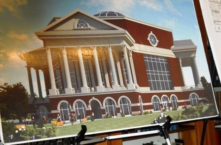 On the drawing board - MSU's new library