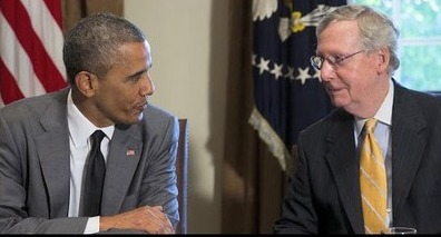 BREAKING NEWS - McConnell Pledges Support for Obama KY Anti- Poverty Plan