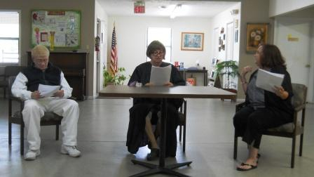 Courtroom Capers presented by Old Duffers and Powder Puffers in Clinton May 8, 2013