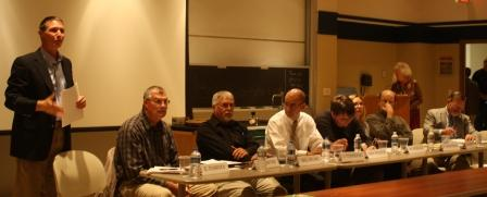Eight panelists discussed clean water from their different perspectives