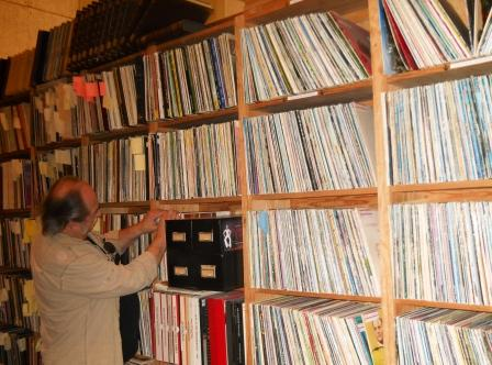 Records to this collector are like chocolate