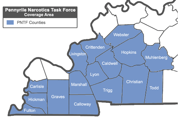 Federal Cuts would put Pennyrile Narcotics Task Force at Risk - West