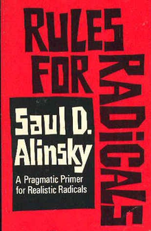 Angry students organizing would make Alinsky proud