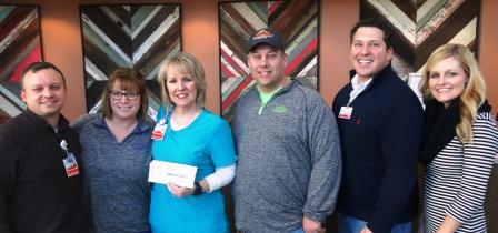 Texas Roadhouse presents Your Fight Fund with $33,500