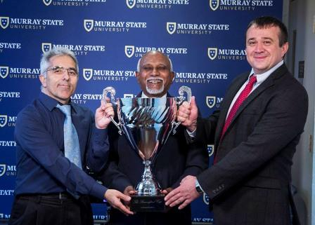 Murray State Department of Computer Science and Information Systems wins Bauernfeind Cup