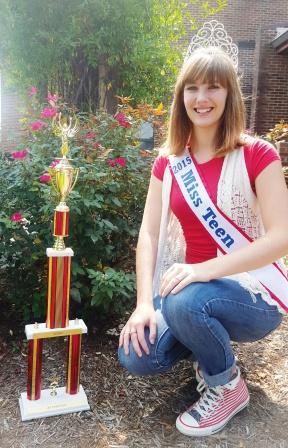Graves County teen Becca Green named Miss Teen Kentucky 2015