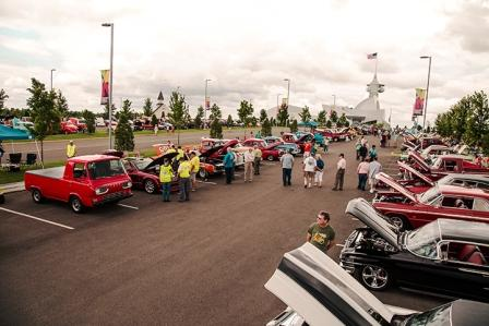 The Fourth Annual Discovery Park of America Car Show will be June 23rd