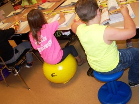 Seating choices affect learning