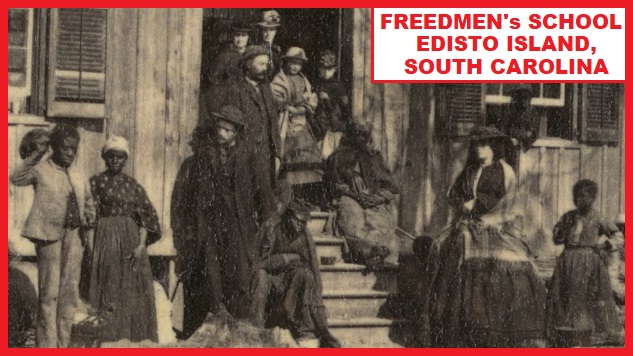 THE FREEDMEN SCHOOL AT COLUMBUS, KY