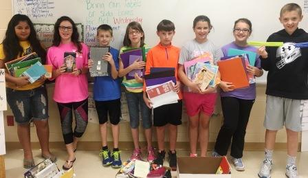GC Students give to help flooded LA students