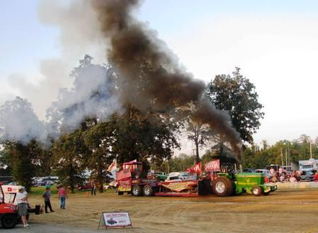 Graves Truck Pullers' eighth annual event draws crowd, helps local public school children in need at Christmas