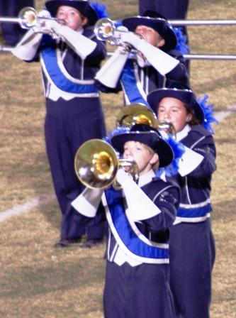 Pride of Graves County Marching Band