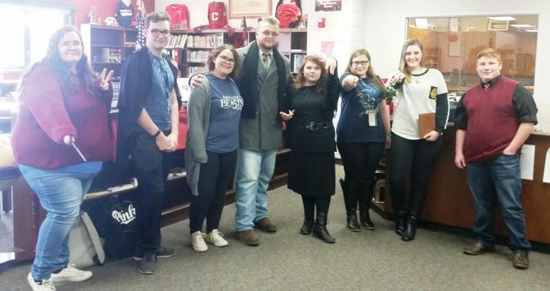 Hickman County High celebrates I Love to Read Week