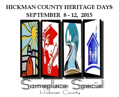 Heritage Days set for September 8 -12th