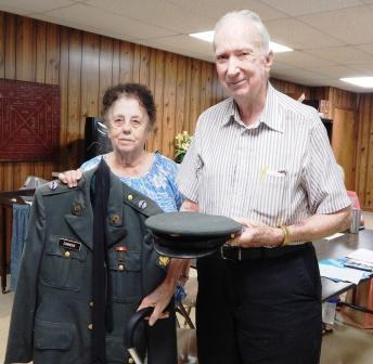 Graves Historical Society visits Hickman County Historical Society