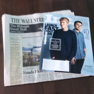 What I'm Reading: WSJ & Inc. Magazine