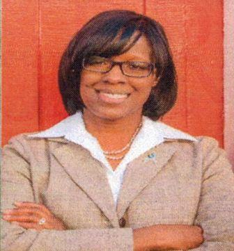 Lt. Gov. Jenean Hampton locates the