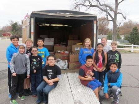 Competition helps spur Lowes students to donate 3K of food