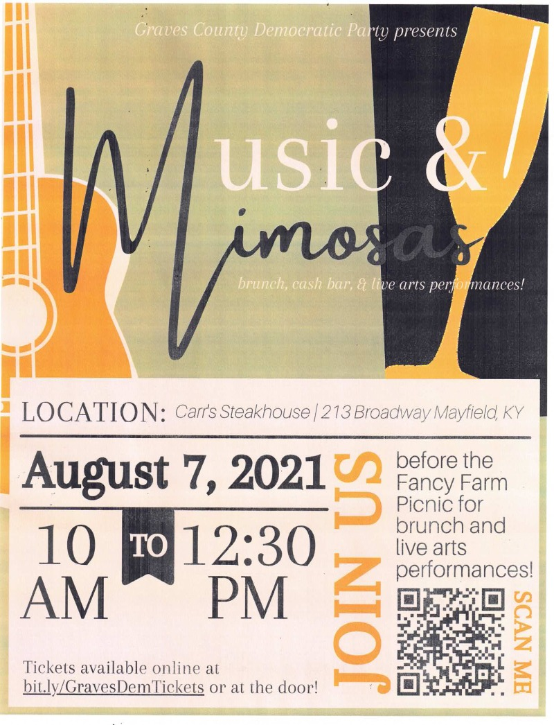 KDP Chair Colmon Elridge to headline Music and Mimosas Event