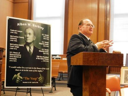 Life of Alben W. Barkley has lessons to teach