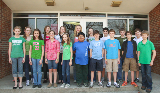 Paducah Middle OM teams