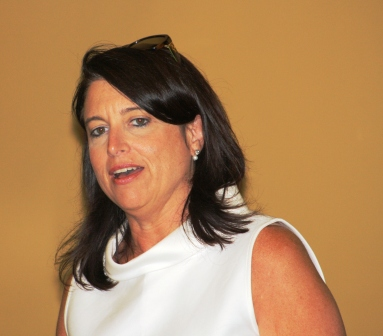 Rep. Sannie Overly - Dem. Lt. Gov. Candidate visits Mayfield