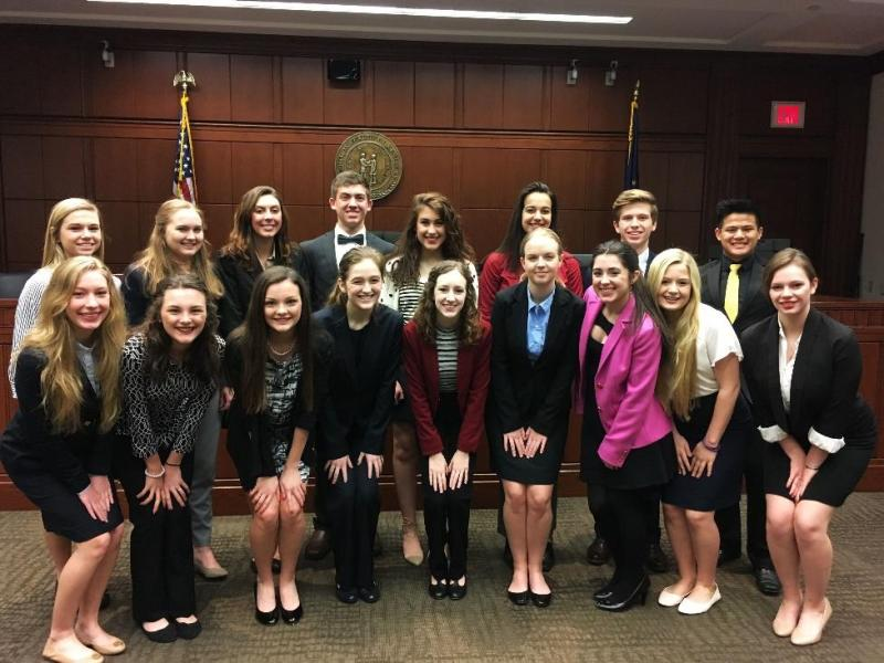 PTHS Mock Trial team finishes 13th out of 26 schools