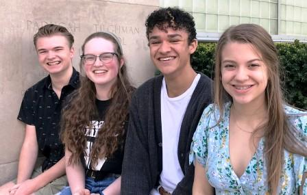 Four Tilghman students chosen for Governor's School for the Arts