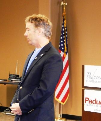 Senator Paul holds town hall meeting in Paducah