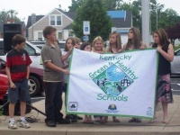 Wingo Elementary recognized nationally for green work