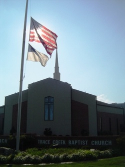 Trace Creek Baptist Church - a megachurch in the country