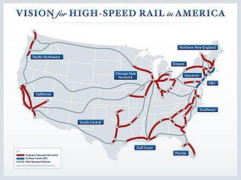 High Speed Rail - Detours Around Kentucky