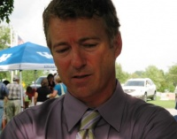 Rand Paul in Cayce for Methodist Picnic