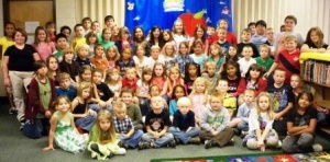 It's Official - Graves County's Cuba Elementary School wins high attendance day