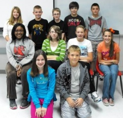 Hickman County Seventh Graders in Duke TIP