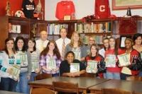 Leadership students awarded membership in WFS