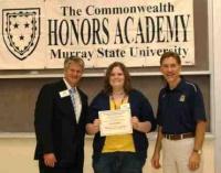 Graves Co. Sr. Recognized at MSU program