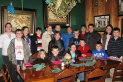 Students visit Patti's for table etiquette lessons