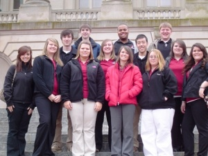 Students spend historic day in Frankfort
