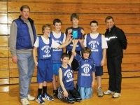 Graves Central Boys and Girls Teams Win Little League Basketball Championships