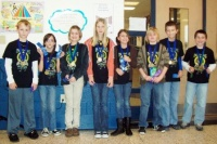 Wingo Elementary Quick Recall Team wins district Governor's Cup 2011