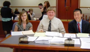 Hickman County Mock Trial Team competes in Louisville