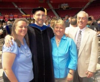 Graves High principal demonstrates value of lifelong learning by earning doctorate