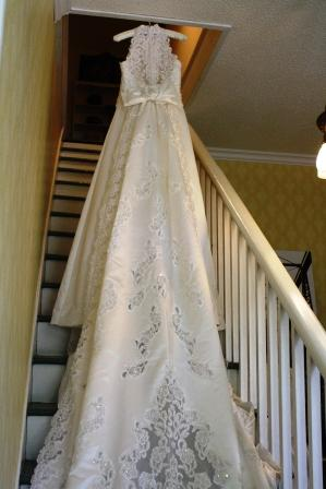 Wedding dresses show style