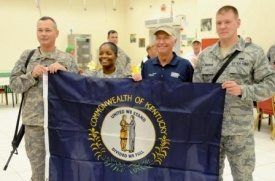 Governor visits troops in Kuwait and Iraq