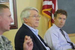 Senator Paul and Rep. Whitfield hear silting problems